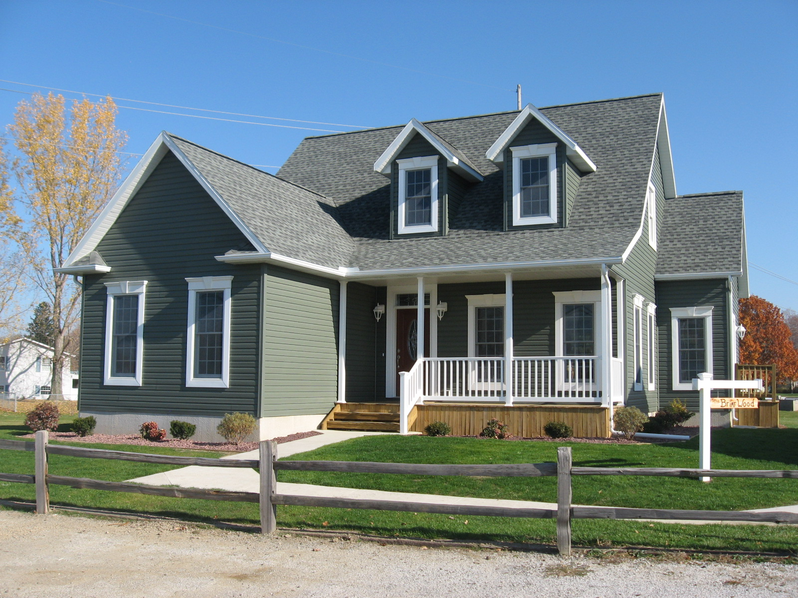 The Briarwood A Cape Cod Beauty Lake City Homes